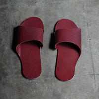 room shoes イタリアンレザー使用《Mサイズ》ワイン