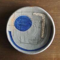 キム ホノ 厚円皿
