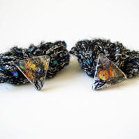 樹脂フリンジピアス