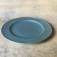 青漆リム皿 051
