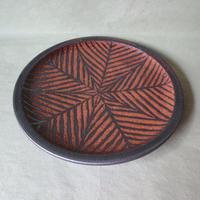 鉄絵八寸皿 003