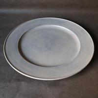 白漆リム皿 002