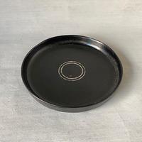 角平鉢L 黒 018