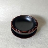 赤木明登/重ね鉢 黒   a037