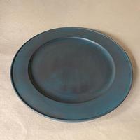 青漆リム皿 004