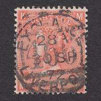 イギリス(QV):1865年 J59(SG#93/94) PL12 MK