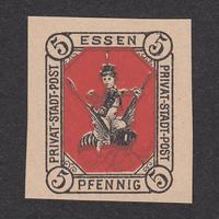 ドイツ(民間地方切手)Essen:1887年 Mi#3N【MNH】