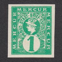 ドイツ(民間地方切手)Hannover:1886年 Mi#1B