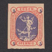 ドイツ(民間地方切手)Essen:1888年 Mi#27