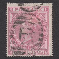 イギリス(QV):1867年 J121(1)(SG#126/127) PL1 HB