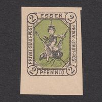 ドイツ(民間地方切手)Essen:1887年 Mi#1N【MNH】