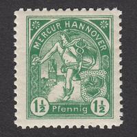 ドイツ(民間地方切手)Hannover:1896年 Mi#18