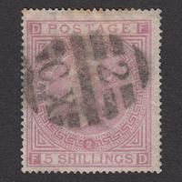 イギリス(QV):1867年 J122(SG#126/127) PL2 FD