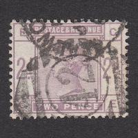 イギリス(QV):1884年 K19(SG#189) GE