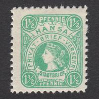 ドイツ(民間地方切手)Hansa:1886年 Mi#6