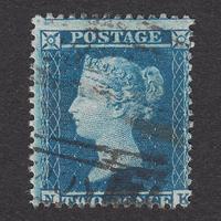 ペンスブルー(スター):1855年 F6(1)(SG#34) PL5 NK