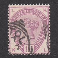 イギリス(QV):1884年 K18(SG#188) KL