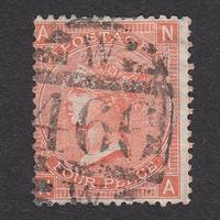 イギリス(QV):1865年 J58(SG#93/94) PL11 NA