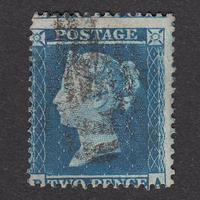 ペンスブルー(スター):1855年 F2(SG#23) PL4 PA