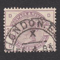 イギリス(QV):1884年 K20(SG#190) DD