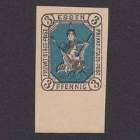 ドイツ(民間地方切手)Essen:1887年 Mi#2N【MNH】