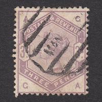 イギリス(QV):1884年 K21(SG#191) GA