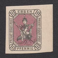 ドイツ(民間地方切手)Essen:1887年 Mi#4N【MNH】