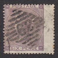 イギリス(QV):1862年 J71(1)(SG#83/84) QH
