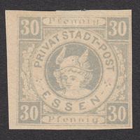 ドイツ(民間地方切手)Essen:1888年 Mi#10B
