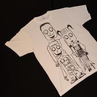 手描きティシャツ   family