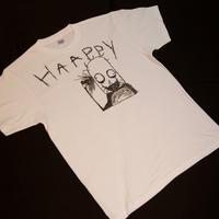 手描きティシャツ  haappy