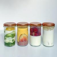 * townz 季節の瓶レアチ 2020 秋 4種フレーバーセット (townzオリジナル保冷バッグ& オリジナルBOX付き)