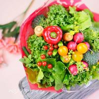 お母さんへ感謝の想いを込めて贈る野菜ブーケ【※発送日5月2日限定】
