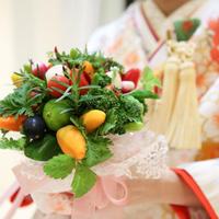 ウェディング野菜ブーケ(クール便送料無料)【※発送日は11月7日以降】