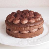 【低糖質】もこもこチョコケーキ【レシピ】