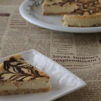 【低糖質】濃厚チョコチーズケーキ【レシピ】