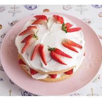 【低糖質】ショートケーキ【レシピ】