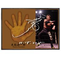 【送料無料】天龍源一郎引退記念立体手形プレート