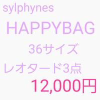 【Sylphynes】シルフィーヌ ハッピーバッグ レオタード サイズ36