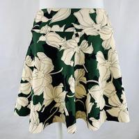 プルオンストレッチスカート シャクナゲ カーキ