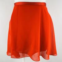 ラップスカート カラーパレット レッド