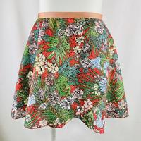 ラップスカート サマーレイン レッド