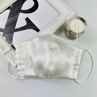 プレミアム シルク 3Dマスク オプティカルリボン 5ミリ  ミルキーホワイト