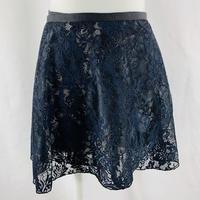 ラップスカート カラーミックス ブラック