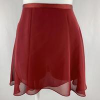 ラップスカート カラーパレット ワイン