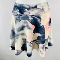 プルオンストレッチスカート スモーキーピンク Y-model