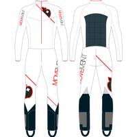 【訳あり Mサイズ】RACE SUIT MOV-J-18750 (MOVEMENT)