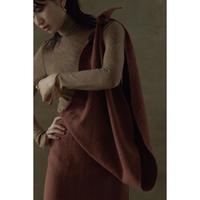 """【""""little $uzie"""" Original #5】2way Linen Wool Knot Skirt(ls143S)"""