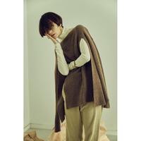 """【""""little $uzie"""" Original #3】Meino wool Slit Pullover (ls077)"""