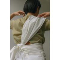 One Shoulder Obi Wrap Skirt(ls174S)